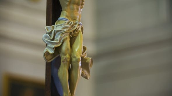 Thumbnail for Statue of Jesus Christ in Church