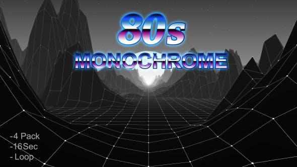 Thumbnail for 80s Monochrome