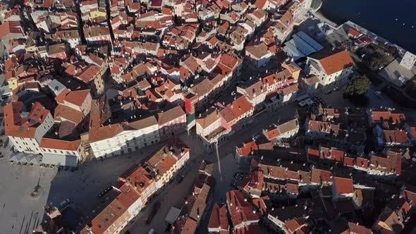 Thumbnail for Aerial Panorama of Rovinj, Croatia