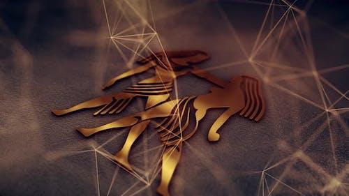 Gemini Zodiac Sign 4k