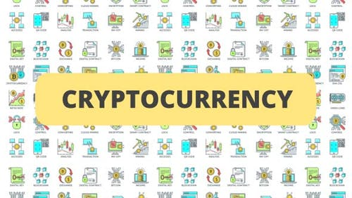 Cryptocurrency - 30 Animated Icons