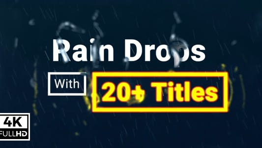 Thumbnail for Rain Drops With Titles
