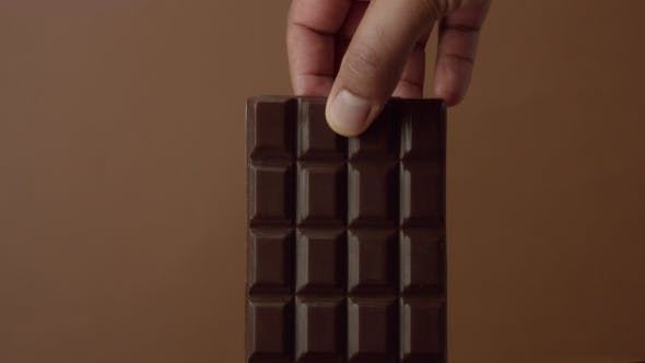 Thumbnail for Black Chocolate Bar  Soaked in Liquid Chocolate
