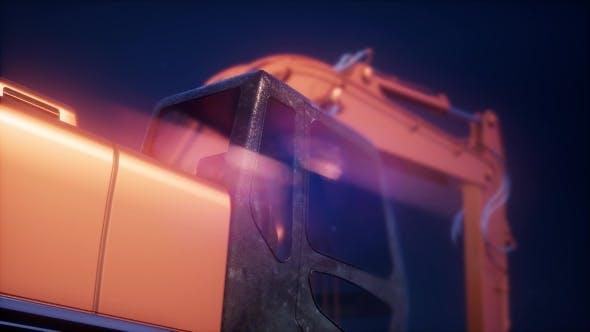 Metal Excavator Tractor