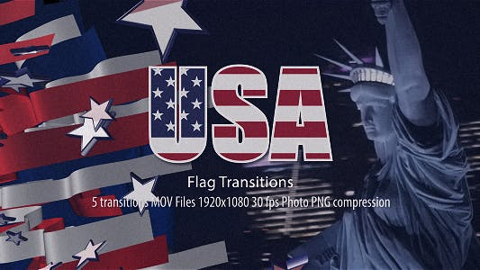 Thumbnail for USA Flag Transitions