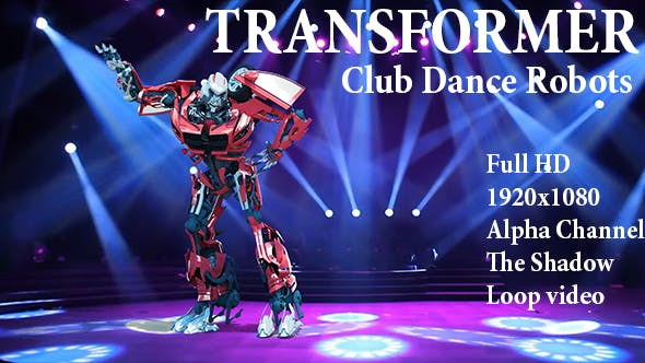 Thumbnail for Club Dance Robots