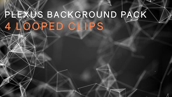 Thumbnail for Abstract Plexus Background Looped Pack
