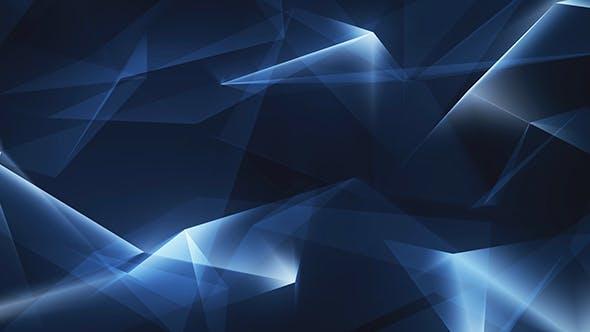 Thumbnail for Light Blue Polygonal Geometrical Refraction