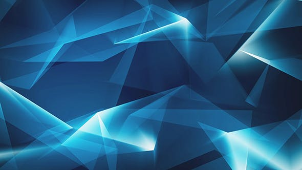 Thumbnail for Blue Shiny Abstract Geometrical Refraction