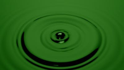 Green Water Ripples