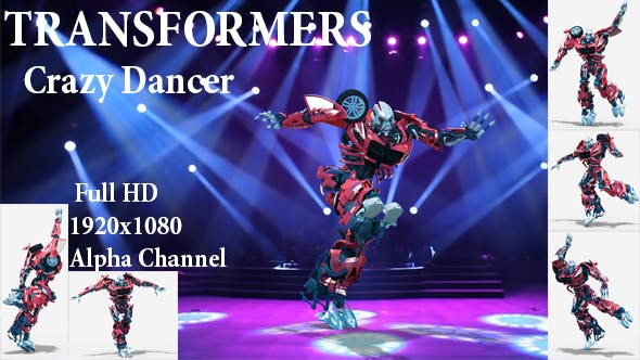 Thumbnail for Crazy Dancer Autobots