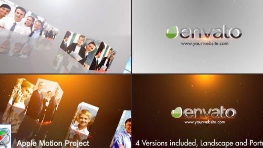Thumbnail for Multi Video 3D Logo - Apple Motion