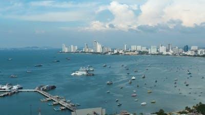 Pattaya City Beach at Pratumnak Viewpoint