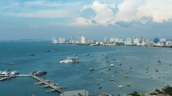 Cover Image for Pattaya City Beach at Pratumnak Viewpoint