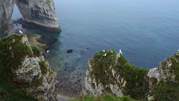 Rocky Cliffs And The Sea 21