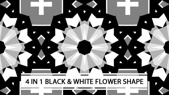 Thumbnail for Black And White Flower Shape