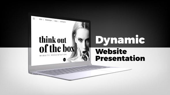Thumbnail for Dynamic Website Presentation