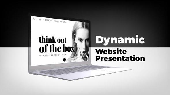 Thumbnail for Динамическая презентация веб-сайта