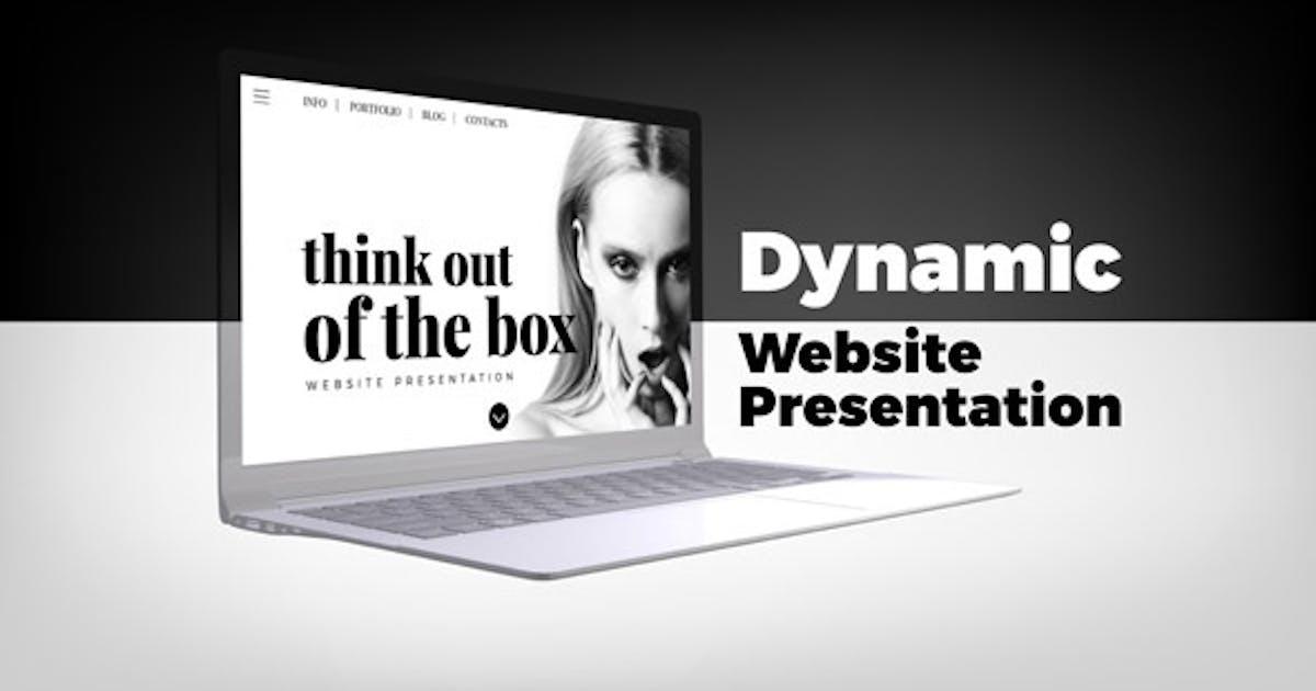 Download Dynamic Website Presentation by ConceptCafe