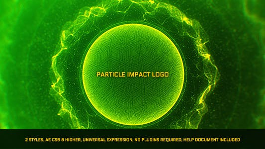 Thumbnail for Particle Impact Logo