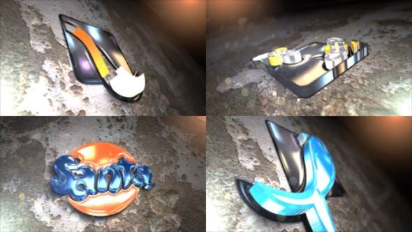 Thumbnail for Trazo animado brillante 3D