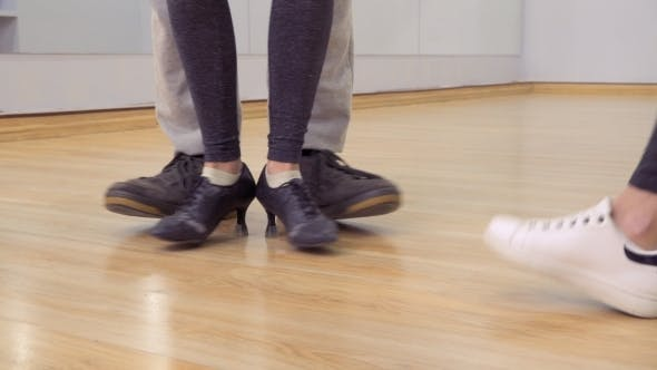 Thumbnail for Dancing Male and Female Legs