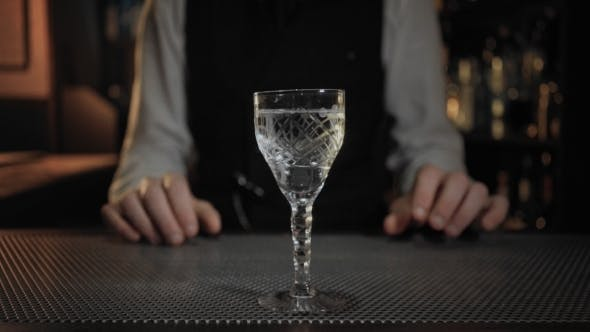 Thumbnail for Endless Loop Cinemagraph of Cocktail Preparation