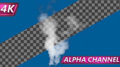Hot White Smoke Stream