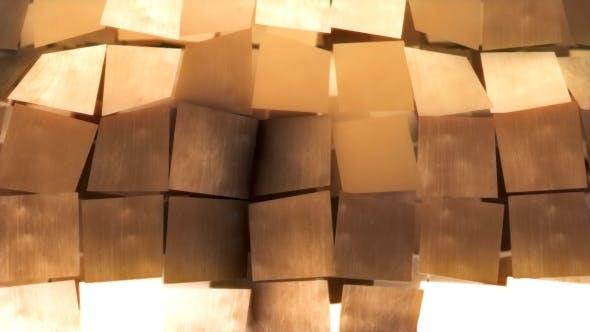 Thumbnail for Gold Blinking Metal Wall