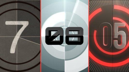 Countdown logo reveal pack