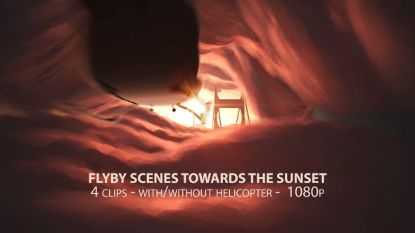 Thumbnail for Flyby Scenes Towards The Sunset