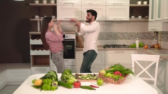 Thumbnail for Couple Dance in Kitchen