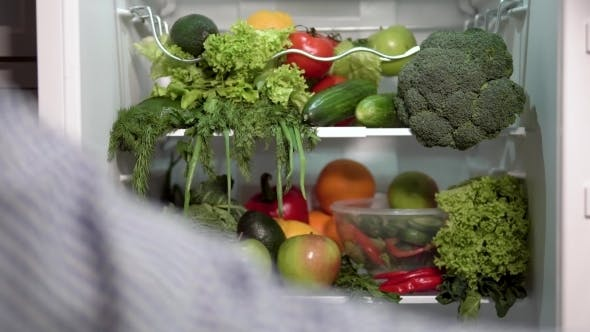 Thumbnail for Fridge Full of Vegetables and Fruit