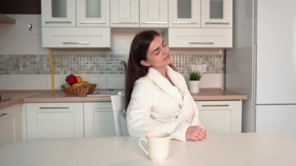 Thumbnail for Woman Having Morning Coffee