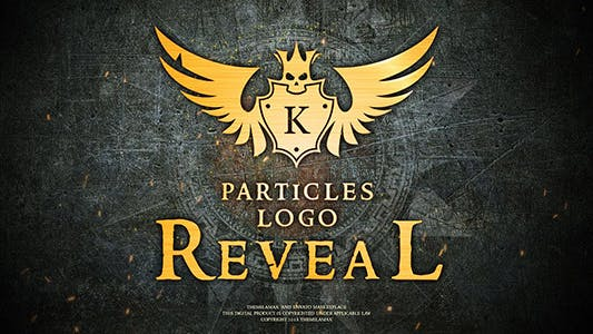 Thumbnail for Particles Logo Reveal