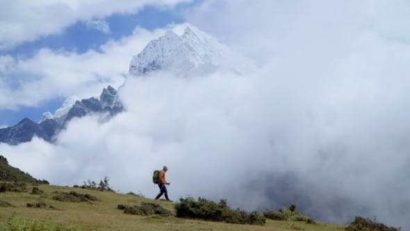 Thumbnail for Tourist in the Himalayan Mountains