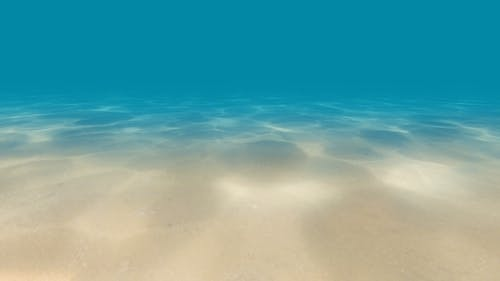 Caustics on the Seabed Underwater
