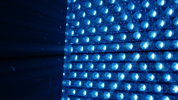 Thumbnail for LED Bright Rotating Panel in Blue