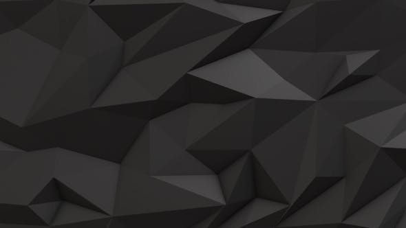 Thumbnail for Gray Abstract Low Poly Triangle Background