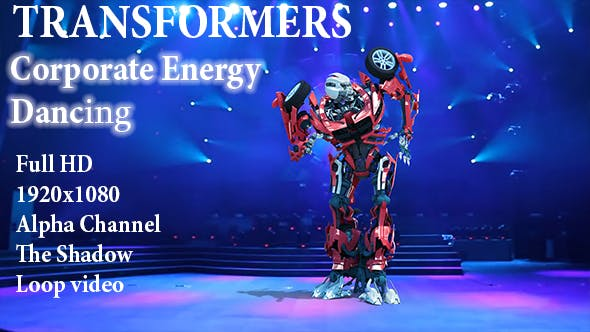 Thumbnail for Robot Corporate Energy Dance