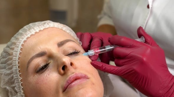 Thumbnail for Young Woman Facial Rejuvenation Injections