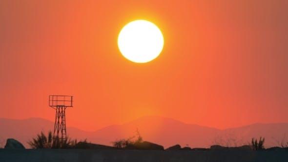 Thumbnail for Sundown in Evening Sky