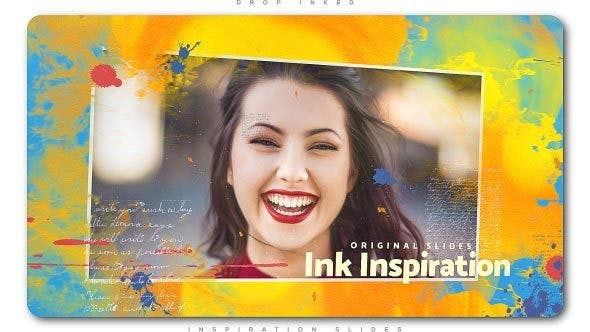 Thumbnail for Drop Inked Inspiration Slides