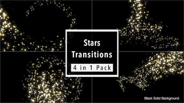 Thumbnail for Stars Transitions Pack