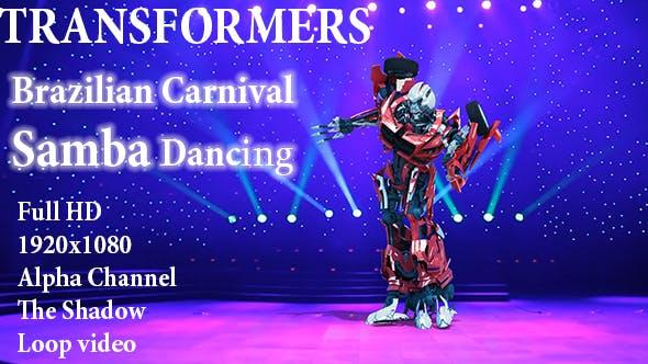 Thumbnail for Carnival Brazil 3d Robot