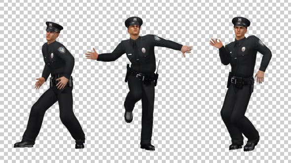 Thumbnail for Police Officer Sexy Dance