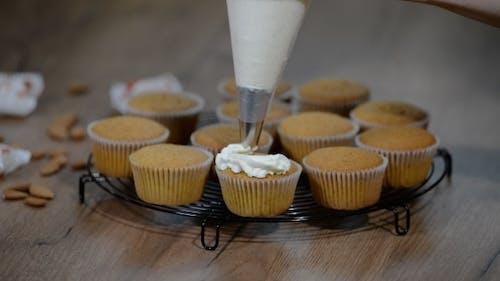 Dekorieren mit Cupcake Vanille Creme