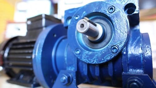 Electric Motor in Laboratory