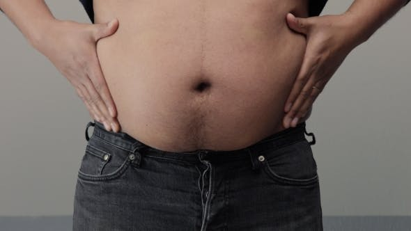 Cover Image for Overweight Man  of Belly