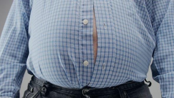 Thumbnail for Übergewicht Man of Belly Diät Konzept